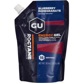 GU Energy Roctane Energy Gel confezione 480g, Blueberry Pomegranate